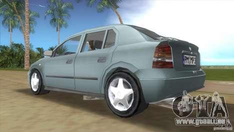 Opel Astra G pour une vue GTA Vice City de la droite