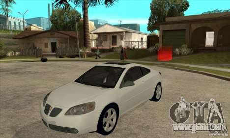 Pontiac G6 Stock Version pour GTA San Andreas