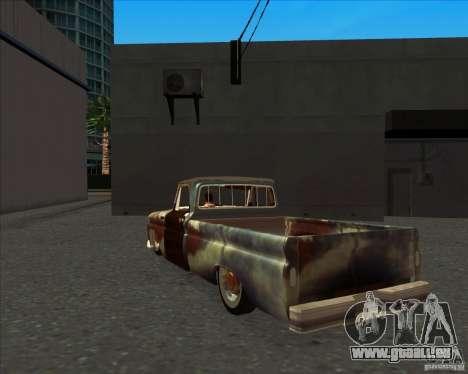 Chevrolet C10 Rat Rod pour GTA San Andreas vue de droite