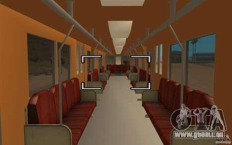 Metro type 81-717 für GTA San Andreas rechten Ansicht