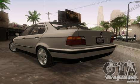 BMW 320i E36 für GTA San Andreas linke Ansicht