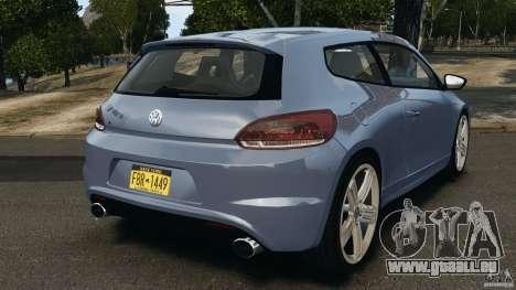 Volkswagen Scirocco R v1.0 für GTA 4 hinten links Ansicht