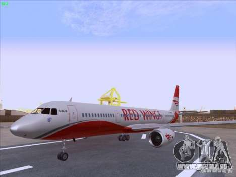 Tupolev Tu-204 Red Wings Airlines für GTA San Andreas