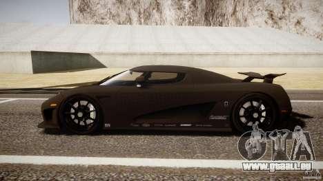 Koenigsegg CCXR Edition pour GTA 4 est une gauche