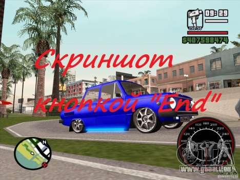 Capture d'écran pour GTA San Andreas