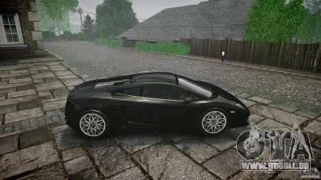 Lamborghini Gallardo LP560-4 pour GTA 4 est une vue de l'intérieur