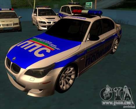 BMW M5 E60 Police pour GTA San Andreas