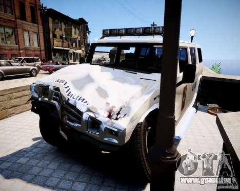 Russian NOOSE Patriot pour GTA 4 est un droit