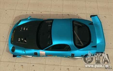 Mazda RX-7 911 Trust für GTA San Andreas rechten Ansicht
