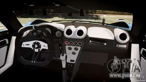 Gumpert Apollo Sport v1 2010 pour GTA 4 Vue arrière