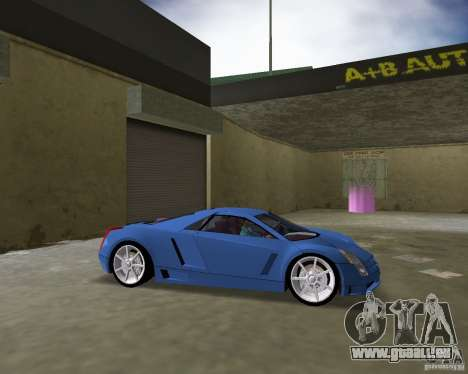 Cadillac Cien für GTA Vice City zurück linke Ansicht