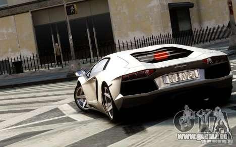 Lamborghini Aventador LP700-4 2012 pour GTA 4 Vue arrière de la gauche