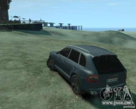 PORSCHE Cayenne turbo S 2009 pour GTA 4 est une gauche