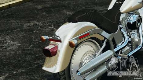 Harley Davidson Softail Fat Boy 2013 v1.0 pour GTA 4 est une vue de dessous