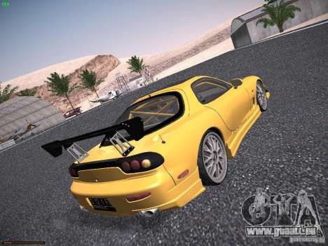 Mazda RX-7 FD3S C-West Custom für GTA San Andreas rechten Ansicht