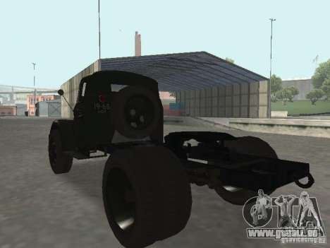 GAZ 51 p für GTA San Andreas linke Ansicht