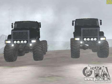 ZIL 497200 für GTA San Andreas rechten Ansicht