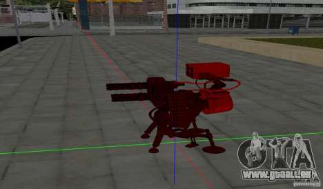 Tourelle de Team Fortress 2 pour GTA San Andreas deuxième écran