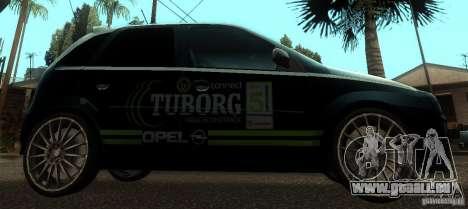 Opel Corsa GSI Rally pour GTA San Andreas laissé vue