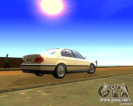 BMW 735i für GTA San Andreas linke Ansicht