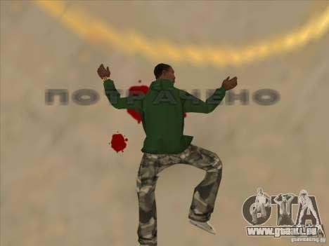 Sauter le Jet pack pour GTA San Andreas cinquième écran