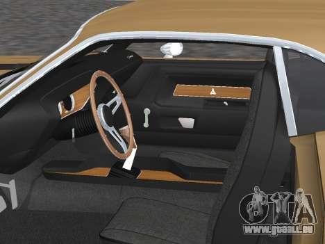 Dodge Challenger 440 Six Pack 1970 pour GTA San Andreas vue de côté