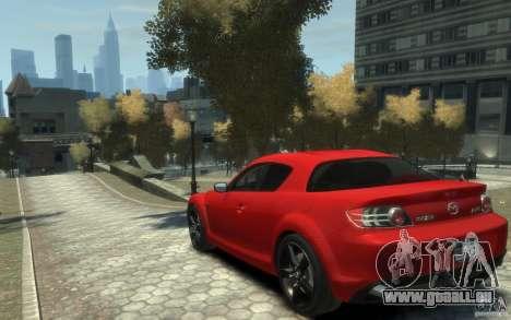 Mazda RX-8 (2006) für GTA 4 hinten links Ansicht