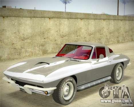 Chevrolet Corvette Stingray für GTA San Andreas