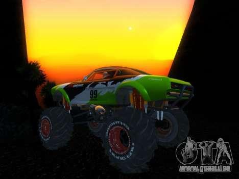 Fire Ball pour GTA San Andreas sur la vue arrière gauche