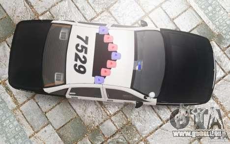 Chevrolet Caprice 1991 Police pour GTA 4 est une vue de dessous