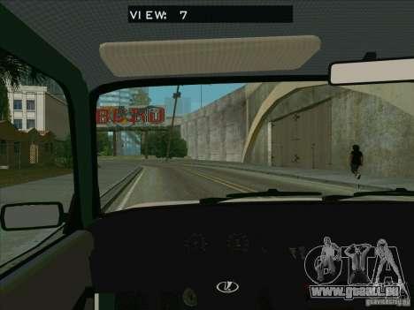VAZ 2107 pour GTA San Andreas vue de côté