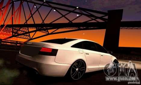 Audi A6 Blackstar für GTA San Andreas rechten Ansicht