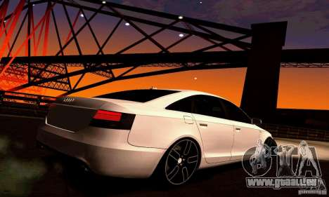 Audi A6 Blackstar pour GTA San Andreas vue de droite