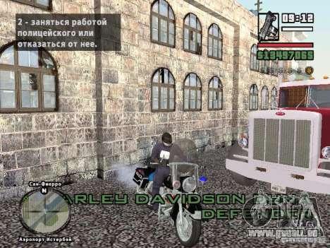 Helmet mod pour GTA San Andreas quatrième écran
