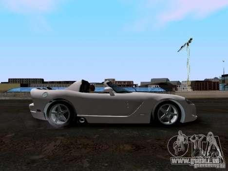 Dodge Viper SRT-10 Custom für GTA San Andreas Innenansicht
