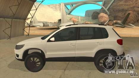 Volkswagen Tiguan 2012 v2.0 pour GTA San Andreas laissé vue