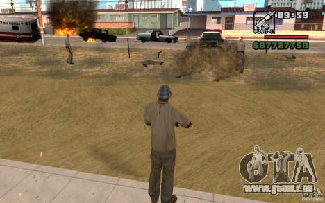 Die Bedrohung durch für GTA San Andreas