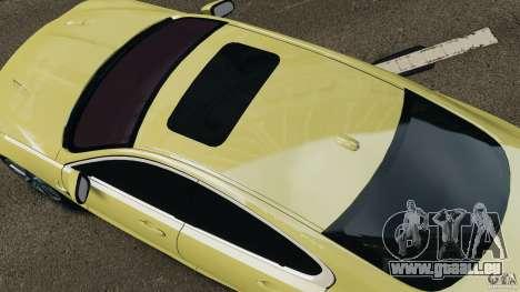 Jaguar XFR 2010 v2.0 pour GTA 4 Vue arrière de la gauche