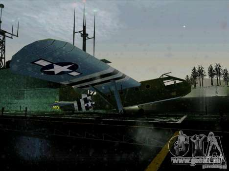 Avion du jeu derrière l'ennemi lignes 2 pour GTA San Andreas vue de droite