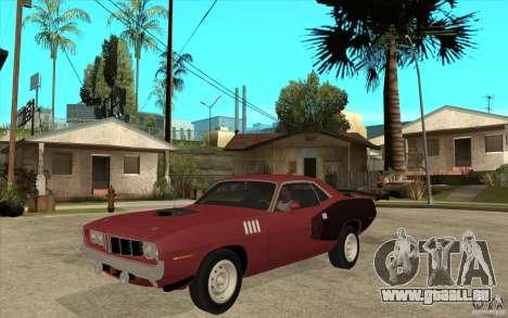 Plymouth Cuda 426 pour GTA San Andreas