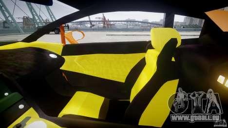 Lamborghini Gallardo Superleggera pour GTA 4 est une vue de l'intérieur