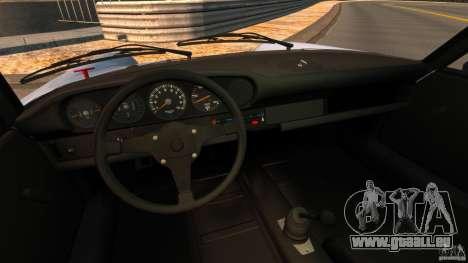 Porsche 911 Carrera RSR 3.0 Coupe 1974 pour GTA 4 Vue arrière