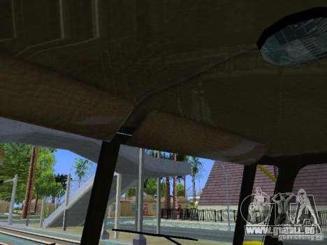 Ural 4320 GORSVET pour GTA San Andreas vue de dessus