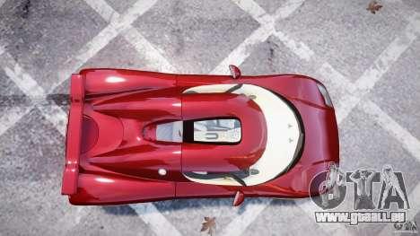 Koenigsegg CCRT für GTA 4 hinten links Ansicht