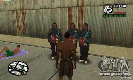 New Ballas für GTA San Andreas zweiten Screenshot