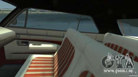 Voodoo Boat pour GTA 4 Vue arrière