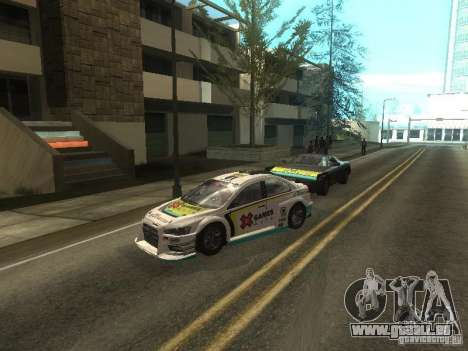 Mitsubishi Lancer Evo X Trailblazer Dirt2 für GTA San Andreas