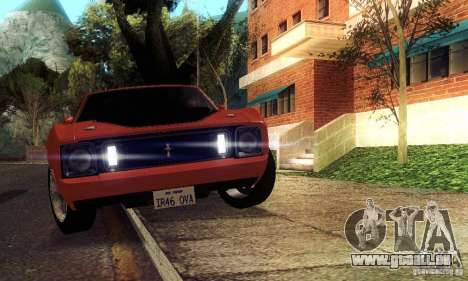 Ford Mustang Mach1 1973 pour GTA San Andreas roue