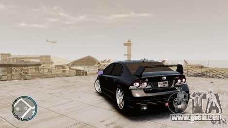 Honda Civic Mugen RR für GTA 4 hinten links Ansicht