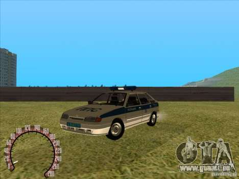 ВАЗ 2114 Police russe pour GTA San Andreas